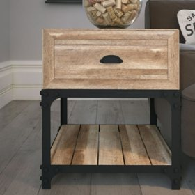 Elk Grove Rustic  End Table, Assorted Colors