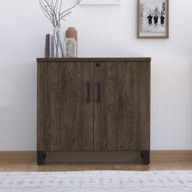 Apex Storage Cabinet, Walnut