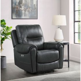 Gardiner Power Recliner with Power Headrest and USB, Assorted Colors