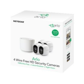 Arlo 4-Pack Wire-Free Home Security Camera Kit - Sam's Club