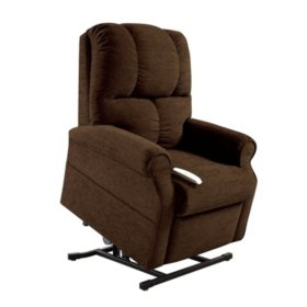 Figaro 3-Position Power Recline & Lift Chair w/ Zoned Heat Technology (Choose a Color)