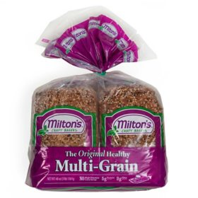 Milton's Craft Bakers Original Multi-Grain Bread (24 oz. loaf, 2 pk.)