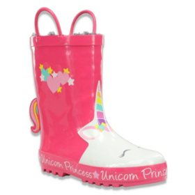 Western Chief Kids Faux Fur Lined Rainboots