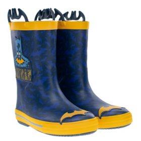 Western Chief  Boys' Waterproof Warm Faux Fur Lined Rubber Rain Boots
