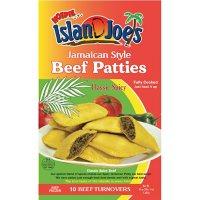 Island Joe's Jamaican Style Beef Turnover Patties, Classic Spicy, Frozen (10 ct.)