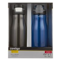 Deals on 2-Pk Contigo Autoseal 32-oz. Leak-Proof Water Bottle 2094324