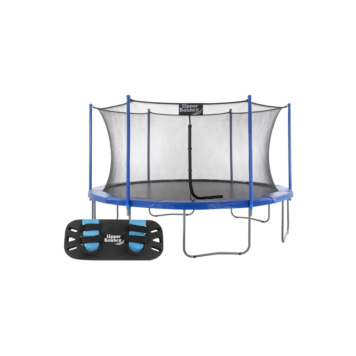 Upper Bounce 16′ Round trampoline with Trampoline Jumping Skate