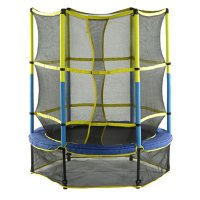 "Upper Bounce 55"" Kid-Friendly Trampoline & Enclosure Set"