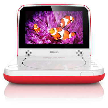 "Philips 7"" LCD Portable DVD Player"