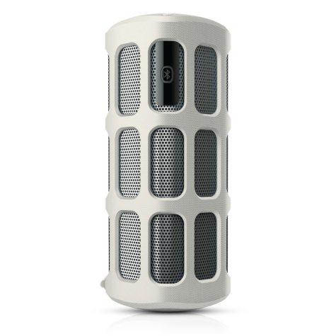 Philips ShoqBox Bluetooth Wireless Portable Speaker - White