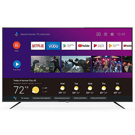 """Philips 75"""" Class 4K UHD HDR Smart AndroidTV - 75PFL5704/F7"""