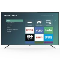 Deals on Philips 75-inch Class Roku Smart 4k UHD LED HDTV 75PFL4864/F7