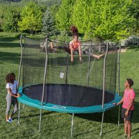 Propel 12' Round Trampoline With Safety Enclosure