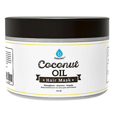 Pursonic Coconut Oil Hair Mask (10 oz.)