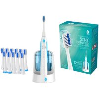 Pursonic Sonic SmartSeries Electronic Power Rechargeable Toothbrush with UV Sanitizing Function