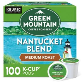 Green Mountain Coffee Nantucket Blend K-Cup Pods (100 ct.)