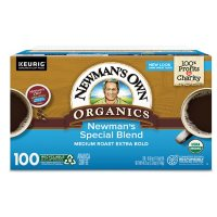 Newman's Own Organics Coffee K-Cup Pods, Special Blend  (100 ct.)