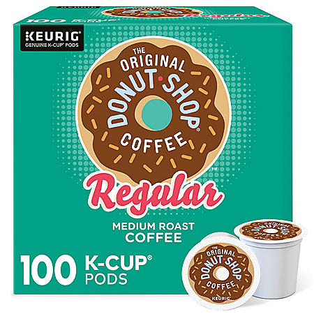 The Original Donut Shop Regular Coffee K-Cup Pods (100 ct.)