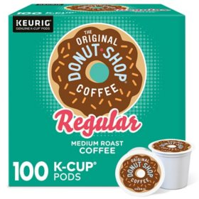 Green Mountain The Original Donut Shop Regular Coffee K-Cup Pods (100 ct.)