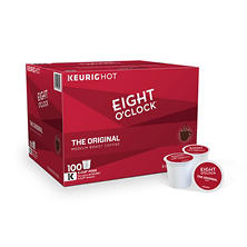 Eight O'Clock The Original Coffee K-Cup Pods, (100 ct.)