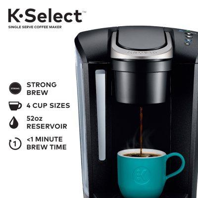 Keurig K Select Single Serve K Cup Pod Coffee Maker Assorted Colors Sam S Club