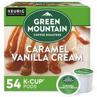 Green Mountain Coffee Single Serve K-Cups, Caramel Vanilla Cream  (54 ct.)