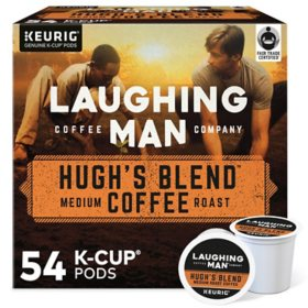 Laughing Man Hugh's Blend K-Cup Pods (54 ct.)
