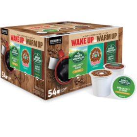 Keurig Wake Up Warm Up K-Cup Collection, Variety Pack (54 ct.)