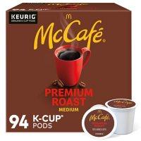 McCafe Premium Roast K-Cup Coffee Pods (94 ct.)
