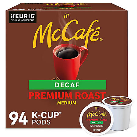 McCafe Decaf Premium Roast K-Cup Coffee Pods (94 ct.)