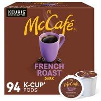 McCafe Coffee Single Serve K-Cup Pods, Dark French Roast (94 ct.)