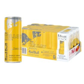 Red Bull Energy Drink, Yellow Edition (8.4 fl. oz., 24 pk.)