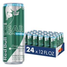 Red Bull Energy Sugarfree Pear (12oz / 24pk)
