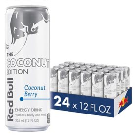 Red Bull Energy Drink, Coconut Berry (12 fl. oz., 24 pk.)