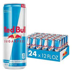 Red Bull Sugarfree Energy Drink (12 oz., 24 pk.)