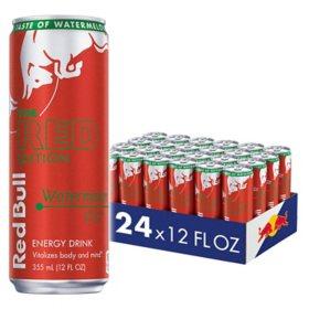 Red Bull Energy Drink, Watermelon (12 fl oz., 24 pk.)