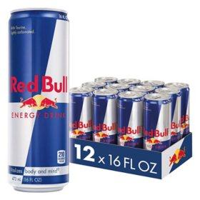Red Bull Energy Drink (16 oz., 12 pk.)