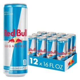 Red Bull Energy Sugarfree (16oz / 12pk)