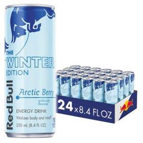 Red Bull Energy Drink, Winter Arctic Berry (8.4 oz., 24 pk.)