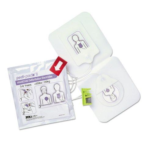 ZOLL Pedi-padz II Defibrillator Pads, Children Up to 8 Years Old (2-Year Shelf Life)