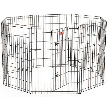 """Lucky Dog 36""""H Heavy Duty Exercise Pen with Stakes"""