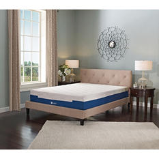 "Lane Sleep Lux 9"" Firm Memory Foam Mattress, King"