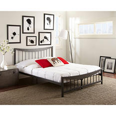 Samantha Decorative Metal Bed (Assorted Sizes)