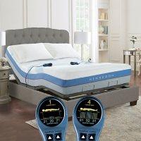 Henredon Air Metrics ICE14 6 Chamber Queen Air Mattress and Adjustable Base