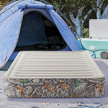 """Realtree EDGE 13"""" Zone Comfort Inflatable Air Bed Mattress, Queen"""