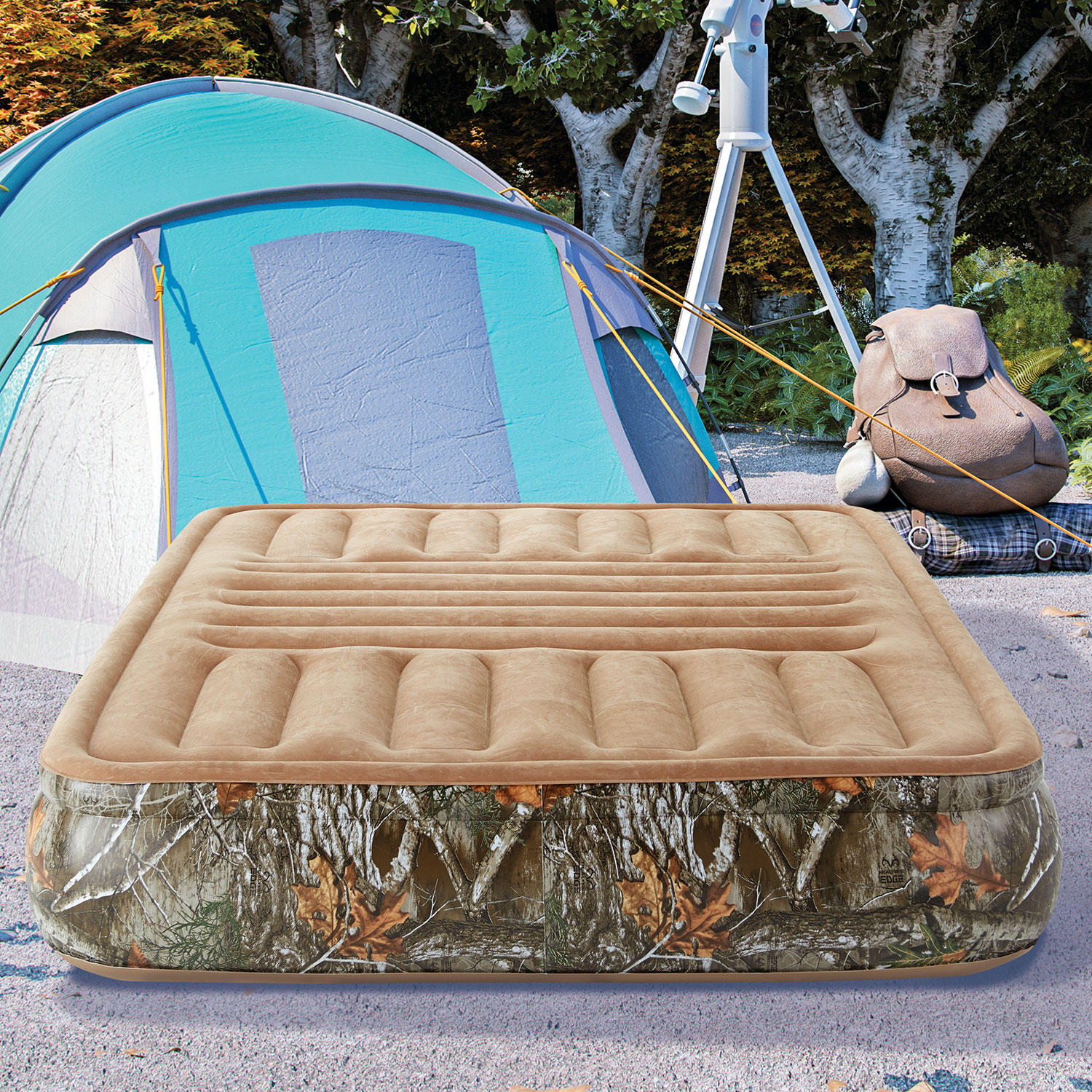 Realtree EDGE 14″ Sport Air Bed Inflatable Mattress