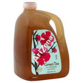 AriZona Green Tea with Ginseng and Honey (1gal)
