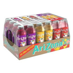 Arizona Juice Variety Pack (20 oz. ea., 24 pk.)