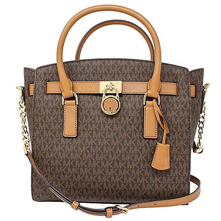f3c8d2e6949a5d Hamilton Large Satchel Leather Handbag by Michael Kors - Sam's Club