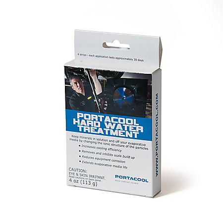 Portacool Hard Water Treatment (4 applications per box)